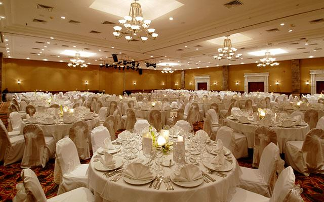 Espacios para eventos o bodas con capacidad hasta para 750 invitados