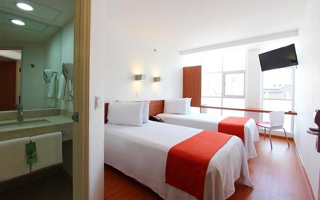 Hotel One Ciudad de México Alameda, habitaciones con todas las amenidades