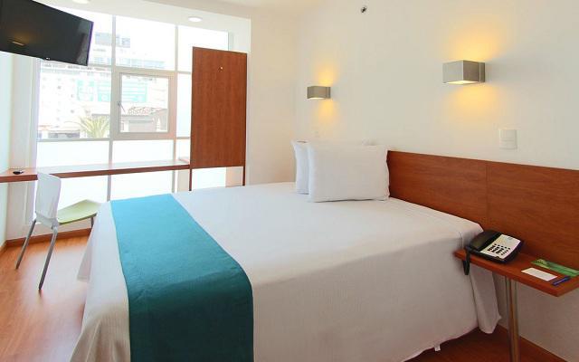 Hotel One Ciudad de México Alameda, habitaciones acogedoras y bien equipadas