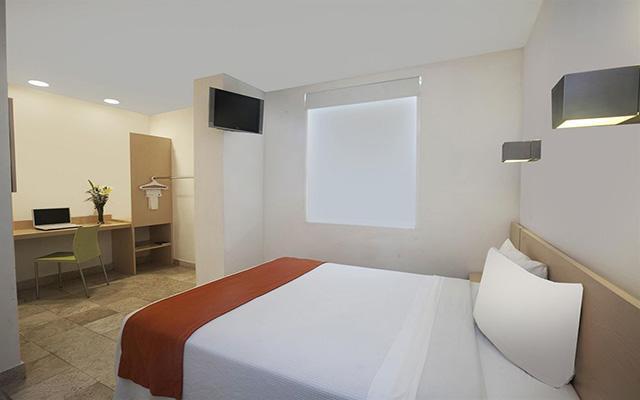 One Coatzacoalcos Forum, habitaciones con todas las amenidades