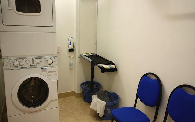 Lavandería disponible