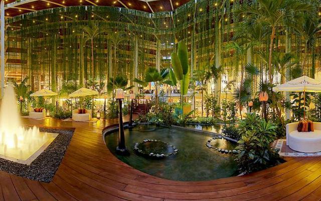 Un espectacular paraíso tropical