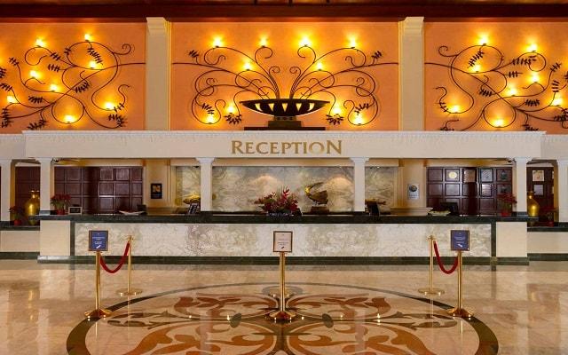 Hotel Sandos Playacar Beach Resort Select Club All Inclusive, recepción