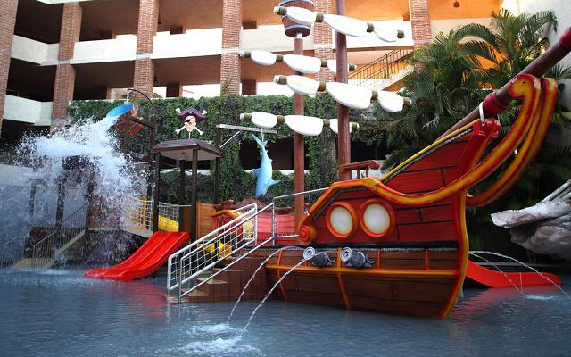 Los niños también se divierten en Hotel Playa Mazatlán