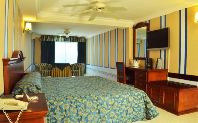 Habitación Junior Suite del Hotel Plaza Colonial