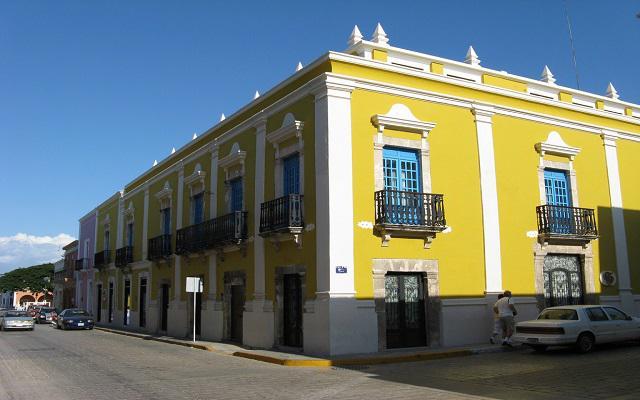 Hotel Plaza Colonial en Campeche Ciudad