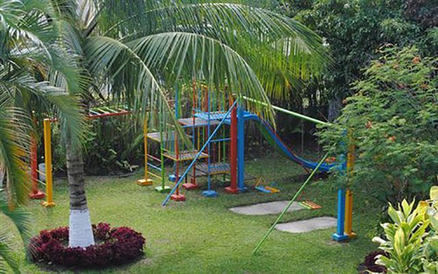 Hotel Posada Koniapan, área de juegos infantiles