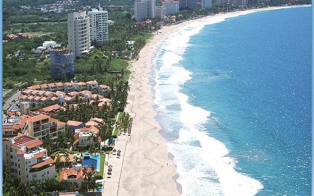 Posada Real Ixtapa, vista aérea