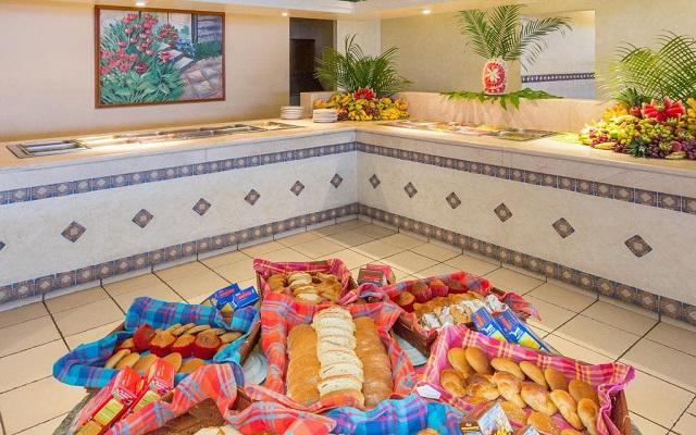 Posada Real Ixtapa, variado menú para tus alimentos