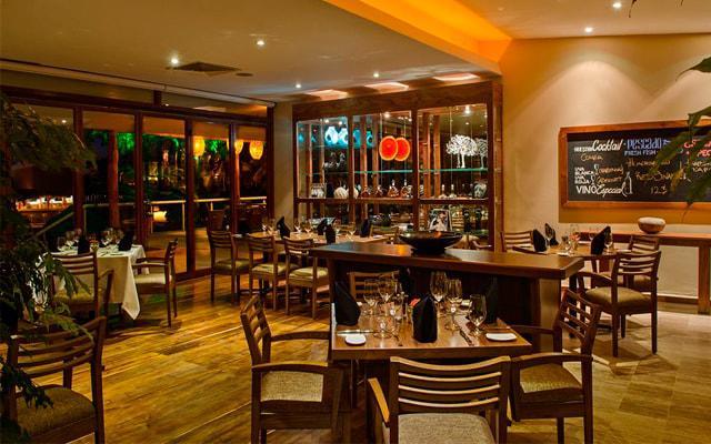 Presidente Intercontinental Cozumel Resort, gastronomía de calidad
