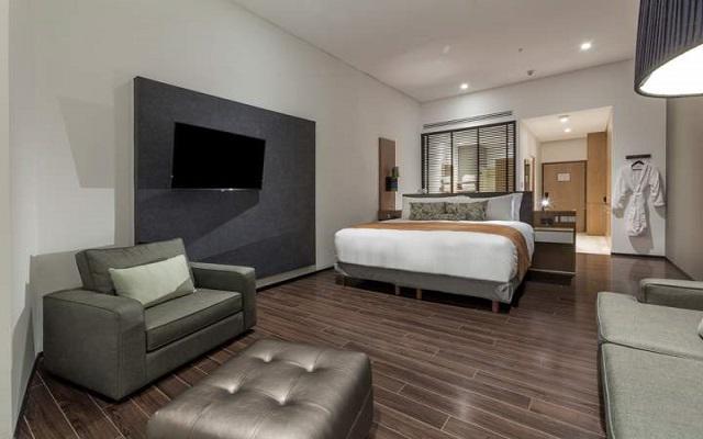 Presidente Intercontinental Santa Fe, confort y elegancia en sus habitaciones