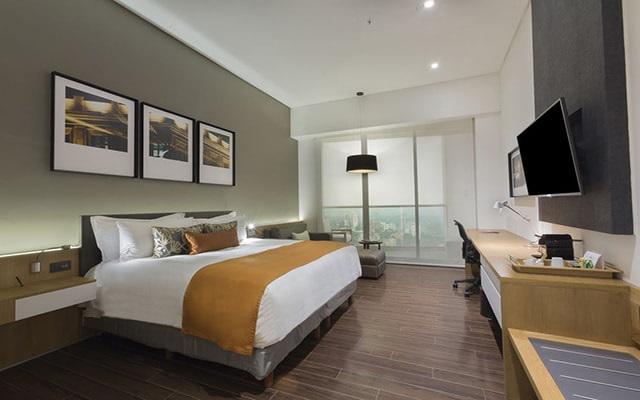 Presidente Intercontinental Santa Fe, habitaciones cómodas y acogedoras