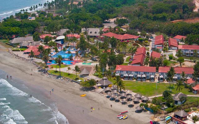 Hotel Qualton Club Ixtapa, vista aérea