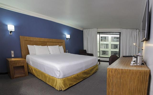 Radisson Hotel Del Rey Inn Toluca, habitaciones con todas las amenidades