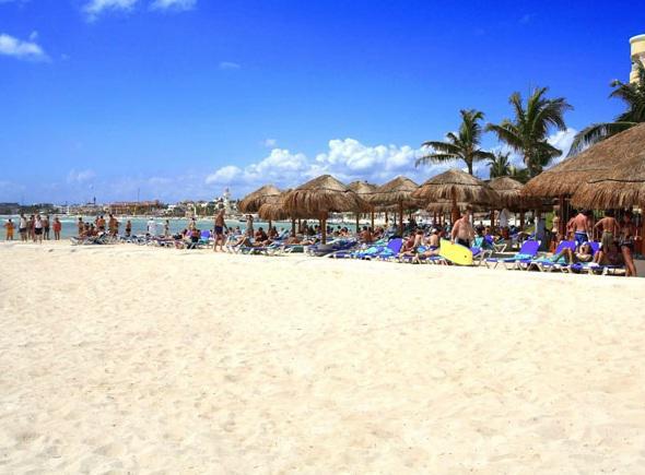 Playa del hotel Real Playa del Carmen