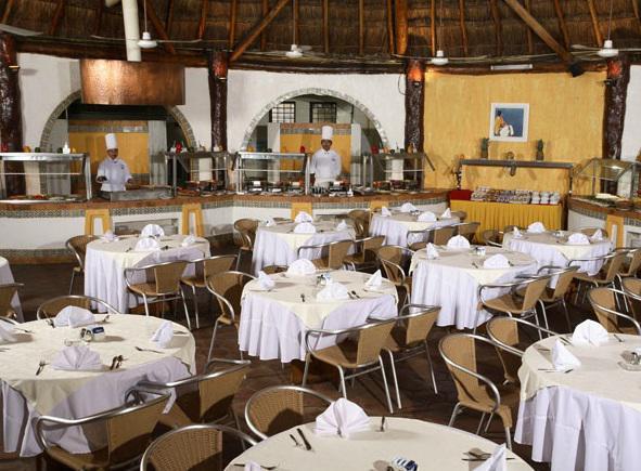 Restaurante del hotel Real Playa del Carmen