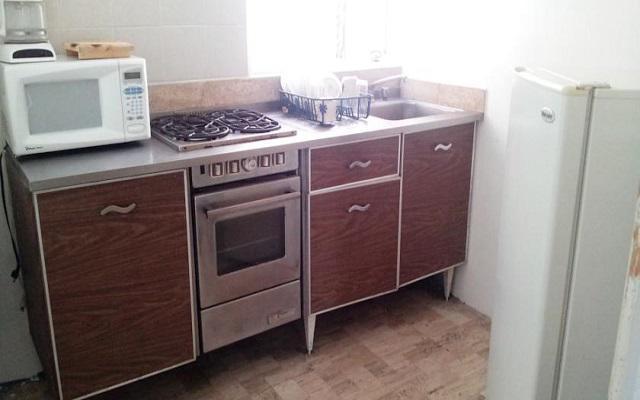 Las suites están equipadas con cocina, equipo y utensilios de cocina