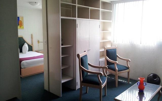 Algunas suites disponen de recámaras separadas