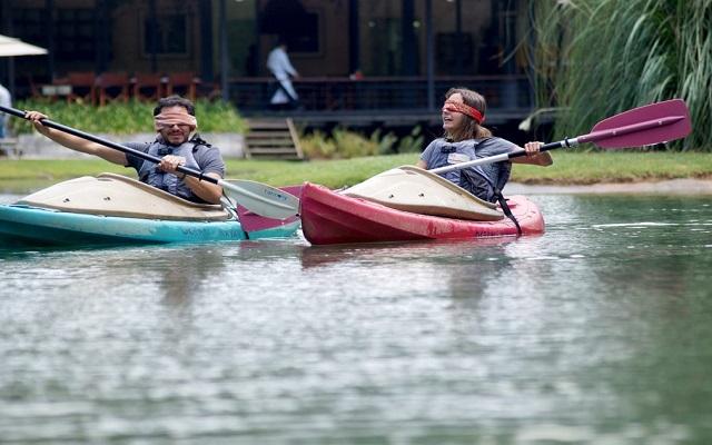 Rodavento Boutique Hotel & Spa, practica kayak
