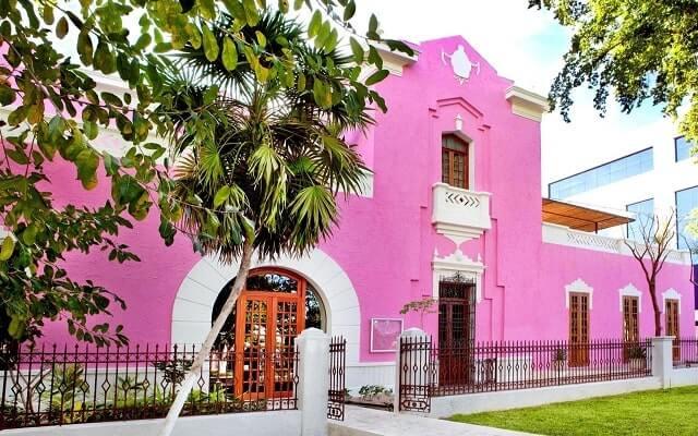 Rosas and Xocolate Boutique Hotel Spa en Mérida Centro