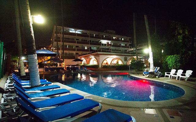 Rosita Hotel Puerto Vallarta, hermosa vista nocturna