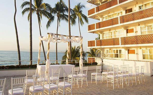 Rosita Hotel Puerto Vallarta, facilidades nupciales