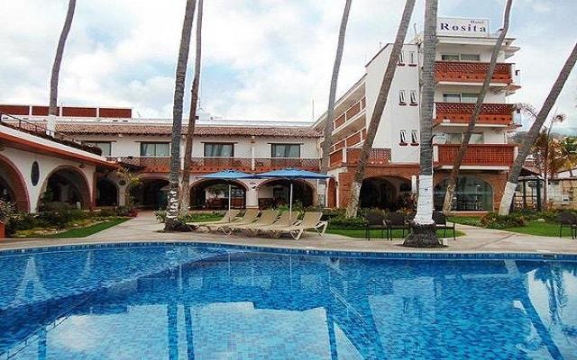 Rosita Hotel Puerto Vallarta, refréscate en su alberca
