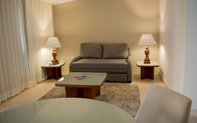 Las suites cuentan con una sala de estar