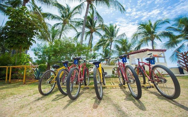 Samba Vallarta, pasea en bicicleta por lindos lugares