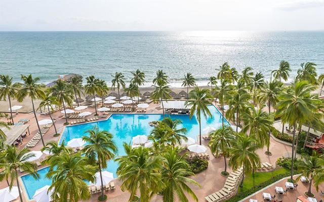 Sheraton Buganvilias Beach and Spa Resort Puerto Vallarta, disfruta de su alberca al aire libre