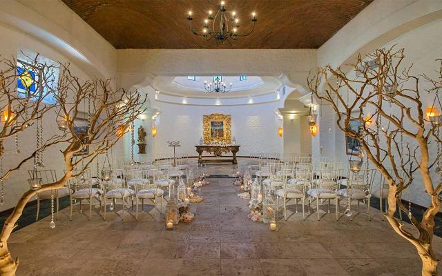 Sheraton Grand Los Cabos Hacienda Del Mar, interior de la capilla