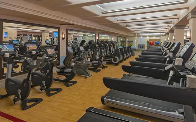 Sheraton Grand Los Cabos Hacienda Del Mar, gimnasio para uso exclusivo