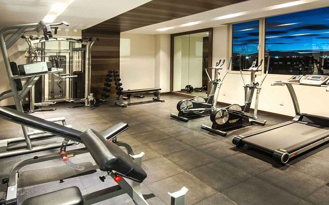 Square Small Luxury Hotel, gimnasio totalmente equipado