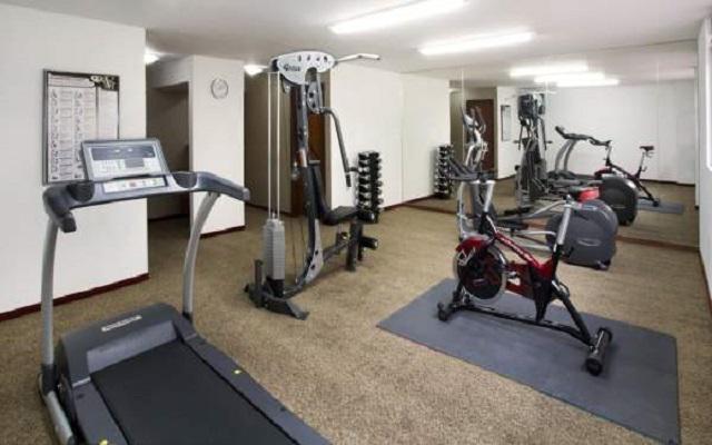 Dispone de un gimnasio que te permitirá ejercitarte a la hora que desees