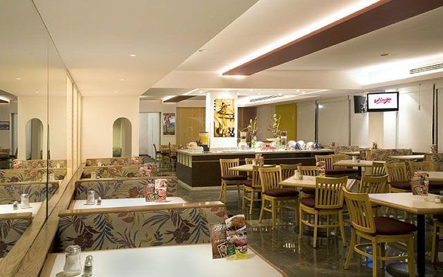 En la planta baja del hotel encontrarás el restaurante Wings