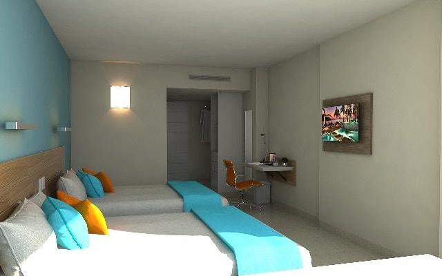 Star Palace Beach Hotel, habitaciones estilo contemporáneo con vista a la ciudad