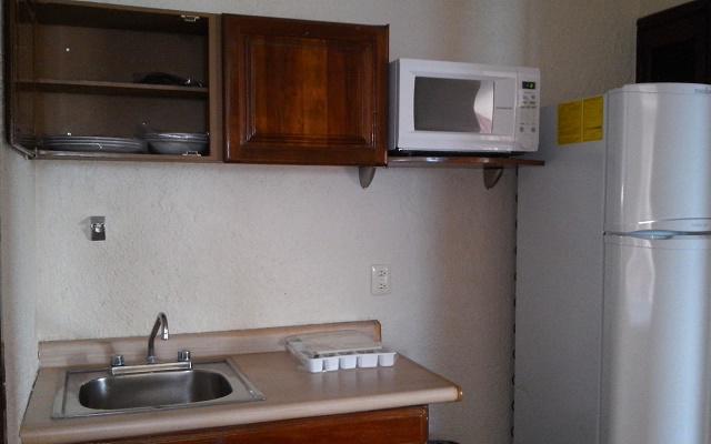 Suites Bahía, algunas habitaciones cuentan con cocineta