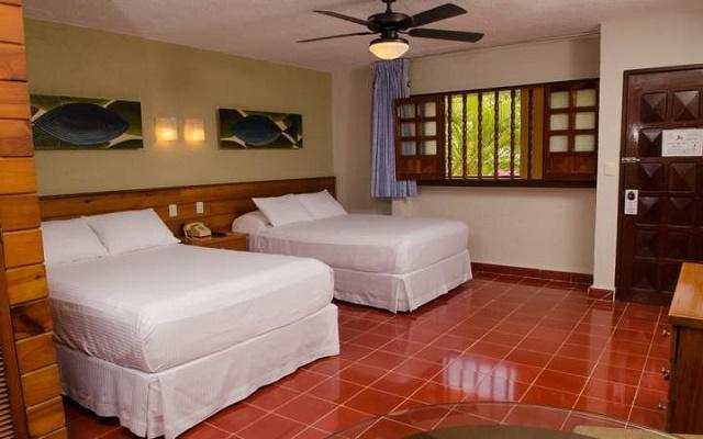 Suites Colonial Cozumel, habitaciones con amenidades pensadas para tu descanso