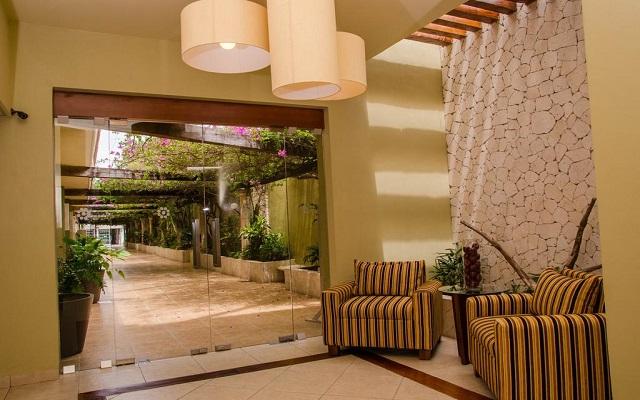 Suites Colonial Cozumel, ingreso