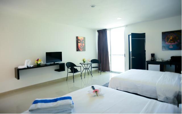 Sunrise 42 Suites Hotel, habitaciones bien equipadas