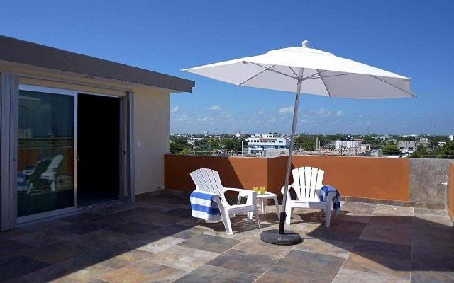 Sunrise 42 Suites Hotel, ambientes agradables