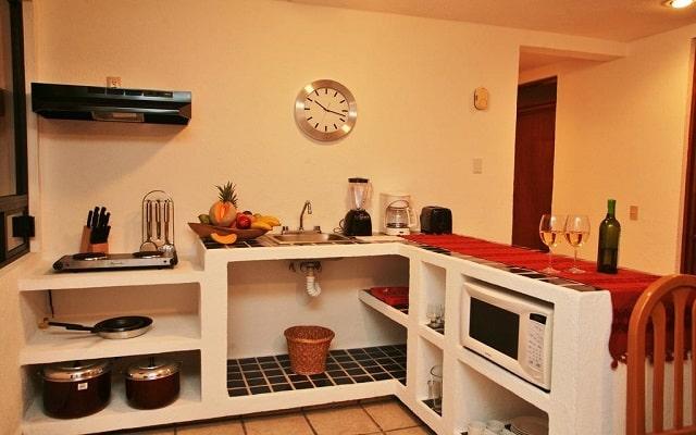 Sunrock Condo Hotel, cocina equipada