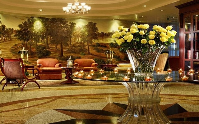 The Green Park Hotel, ambientes de lujo