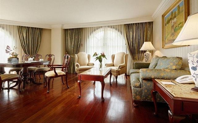 The Green Park Hotel, habitaciones bien equipadas