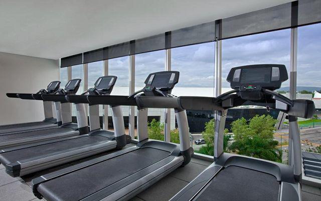 El gimnasio te permitirá continuar con tu rutina de ejercicios