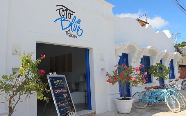 Toto Blue Hotel Boutique en Bacalar