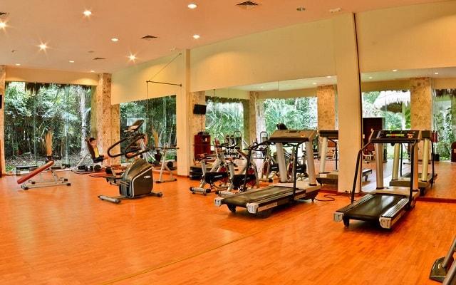 TRS Yucatan Hotel Sólo Adultos, gimnasio