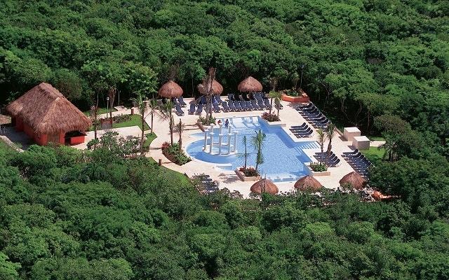 TRS Yucatan Hotel Sólo Adultos, vista aérea