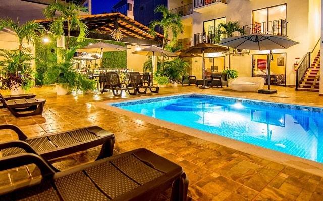 Vallarta Sun Hotel en Zona Romántica