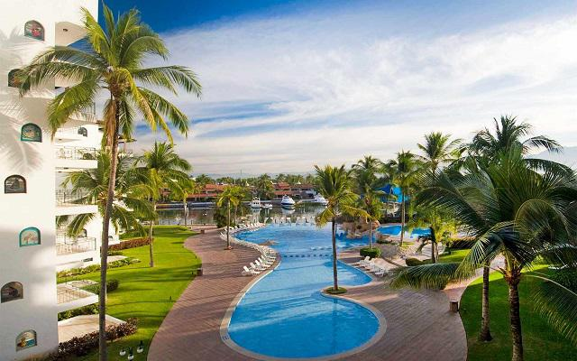 Vamar Vallarta All Inclusive Marina and Beach Resort, escenario fascinante
